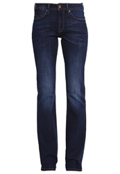 Esprit Edc By Bootcut Jeans Dark Blue Denim Dark Blue Denim