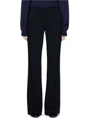 Co Folded Cuff Wide Leg Pants Black