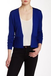 Hugo Boss Finesie Wool Cardigan Blue
