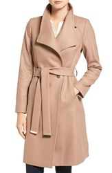 Ted Baker Women's London Wrap Coat Camel