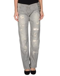 Pinko Black Denim Pants Grey