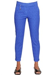 Incotex Kayle Cotton Jacquard Trousers
