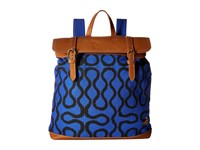 Vivienne Westwood Africa Squiggle Backpack Blue Squiggle Backpack Bags Beige