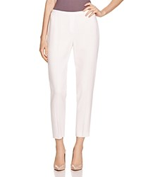 Elie Tahari Marcia Ankle Pants 100 Bloomingdale's Exclusive White