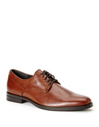 Calvin Klein Kevin Lace Up Oxfords British Tan