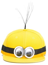 Piers Atkinson Minion Cap Yellow And Orange