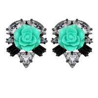 Darya London Ricca Earrings Mint