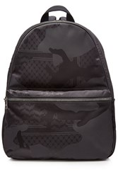 Neil Barrett Printed Backpack Black