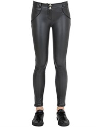 Freddy Leather Effect Wr.Up Skinny Pants