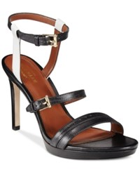 Cole Haan Ayana Two Piece Sandals Women's Shoes Black