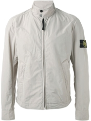Stone Island High Collar Zip Jacket