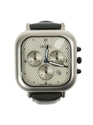 Orolog By Jaime Hayon Square Analog Water Resistant Watch Grey