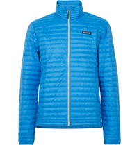 Patagonia Quilted Shell Down Jacket Blue