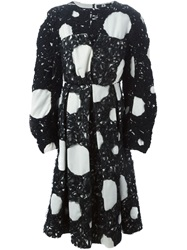 Anrealage Circle Pattern Dress Black