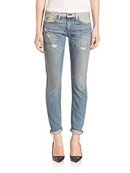 Rag And Bone Dre Slim Fit Colorblock Boyfriend Jeans Reverse Armitage