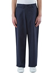 E.Tautz Core Wide Leg Field Pants Navy