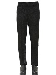 Damir Doma 20Cm Devore Wool And Satin Pants