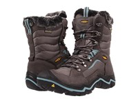Keen Durand Polar Magnet Mineral Blue Women's Cold Weather Boots Brown