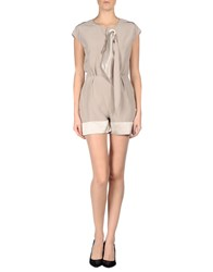 Alexis Mabille Jumpsuits Sand