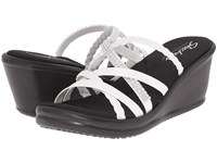 Skechers Rumblers Wild Child White Women's Sandals