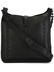 Rebecca Minkoff 'Unlined Feed' Messenger Bag Black