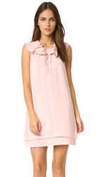 Amanda Uprichard Belle Dress Dusty Rose