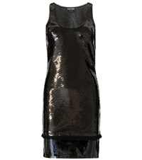 Tom Ford Embellished Dress With Patent Leather Black