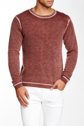 Autumn Cashmere Cashmere Inked Crew Sweater Red