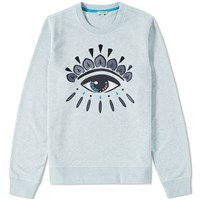 Kenzo Eye Crew Sweat Blue