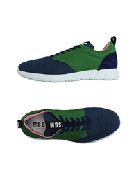 Msgm Footwear Low Tops And Trainers Men Dark Blue