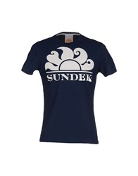 Sundek Topwear T Shirts Men Dark Blue