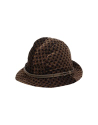 Grevi Hats Dark Brown
