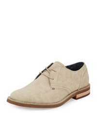 Penguin Waylon Canvas Lace Up Oxford Beige