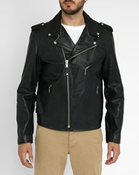 Schott Nyc Black Cowhide Leather Perfecto Jacket