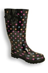 Twisted Drizzy Rain Boot Multi