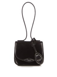 Rochas Monceau Small Leather Bag Black