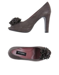 Alexandra Pumps With Open Toe Lead