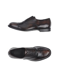 Preventi Lace Up Shoes Dark Brown