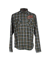 Napapijri Shirts Shirts Men Dark Green
