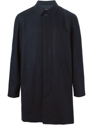 A.P.C. Single Breasted Coat Blue