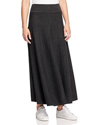 Dkny Pure Maxi Circle Skirt Carbon