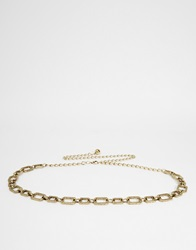 New Look Gipsy Chain Belt Gold