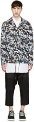 Kenzo Multicolor Patterned Coaches Jacket