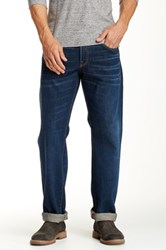 Agave Purist Selvage Classic Cut Straight Leg Jean Blue