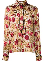 Alice Olivia 'Medieval Floral' Shirt Multicolour