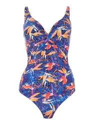 Biba Tropical Splash Goddess Swimsuit Multi Bright