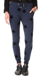 Zoe Karssen Stars Allover Sweatpants Total Eclipse