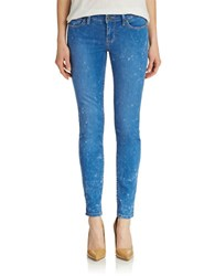 Guess Low Rise Skinny Jeans Bright Blue