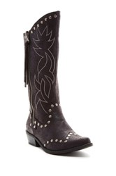 Michael Antonio Bermuda Cowgirl Boot Black