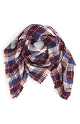 David And Young Women's Plaid Square Scarf